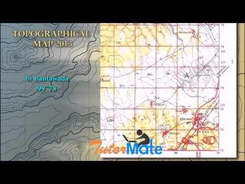 Tutor Mate: ICSE Topographical Map 2013