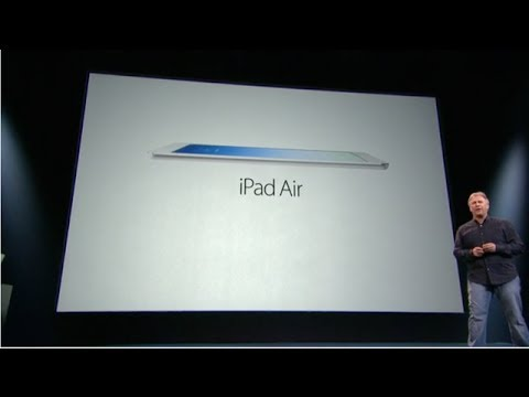 iPad Air, iPad Mini Retina, Mavericks, Mac Pro and MBPro Retina - Apple Event Recap
