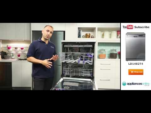 LG Dishwasher LD1482T4 reviewed by expert - Appliances Online