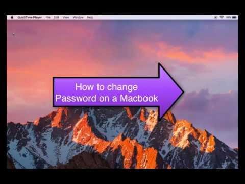 How to Change Macbook Air & Macbook Pro Password Easily