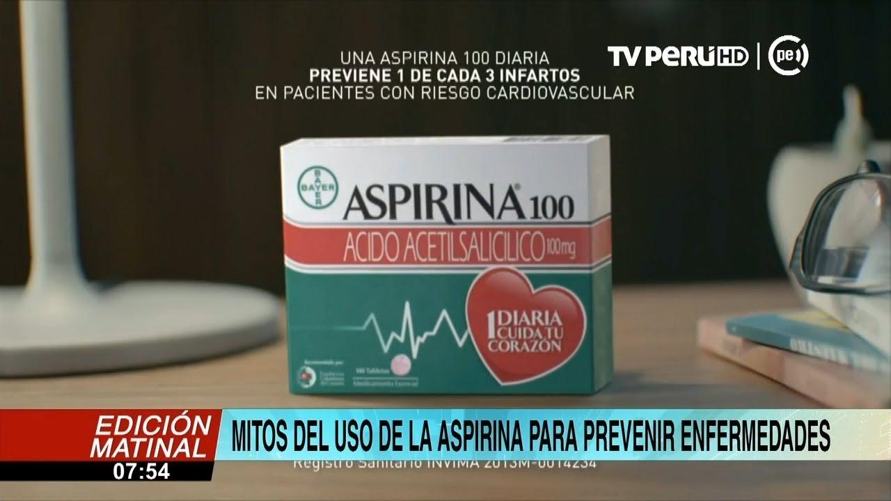 Jefe del servicio de cardiología del hospital Barton recomienda uso de la aspirina solo como prevenc