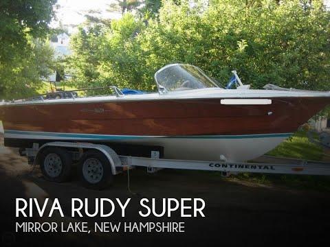 [UNAVAILABLE] Used 1982 Riva Rudy Super in Mirror Lake, New Hampshire