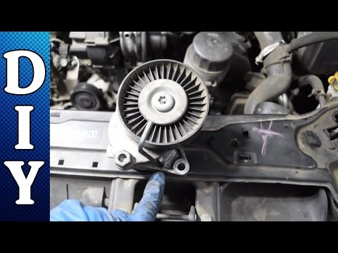 How to Replace the Serpentine Belt and Tensioner - Mercedes C240 C320 E320 CLK320 ML320 V6
