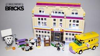 Lego Friends 41134 Heartlake Performance School Speed Build