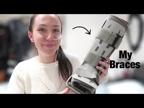♡ A Quick Video about My Braces & Supports | Amy's Life ♡