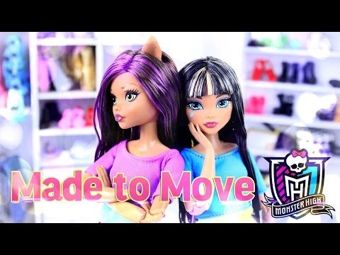 DIY - Custom Doll: Made to Move - Monster High - Handmade - Crafts - 4K
