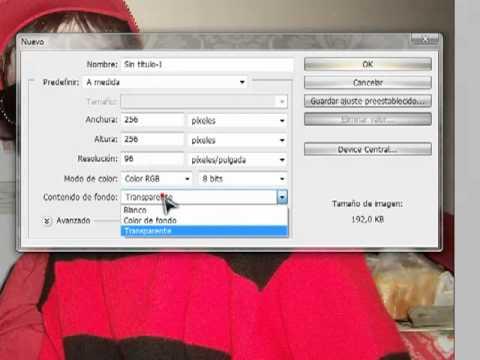 Videotutorial Photoshop: Crear iconos con tu cara (PNG,ICO;EMOTICONMSN)