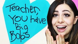 FUNNIEST NOTES BY KIDS to parents and teachers!