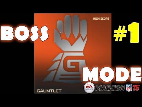 Gauntlet Boss #1 in Madden NFL 15