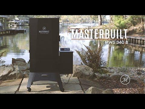Masterbuilt Adventure Series 340|B Pellet Smoker