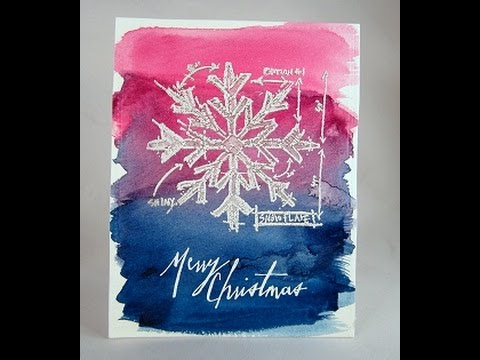 Merry Christmas Snowflake 2
