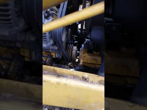 1996 cat 426b hydraulic pump vibration