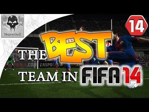 AMAZING SQUAD BUILDER! -THE BEST TEAM IN FIFA #14