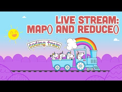 Live Stream #121: map() and reduce() in JavaScript