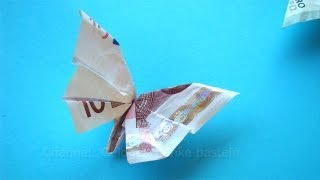Geldgeschenke Basteln Geld Falten Blume Fächer Pakvim