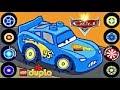 Lightning McQueen VS Francesco Bernoulli Final Race! - Cartoon Lego Disney Cars Games For Children