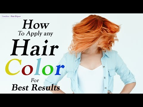 How to Condition Your Hair Coloring Your Hair- Limitless Hair Expert