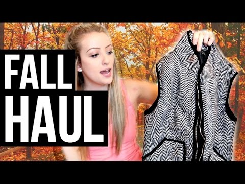 FALL CLOTHING HAUL