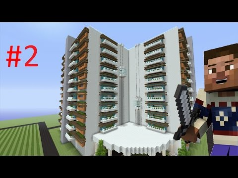 How to Build a Modern Hotel in Minecraft - Part 2