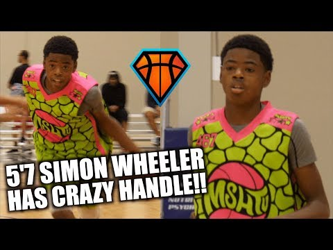 5'7 Freshman Shows CRAZY HANDLE & FINISHES at MSHTV!! | Simon Wheeler is NEXT UP in Michigan