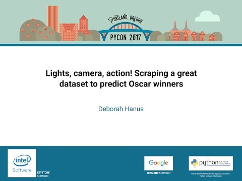 Deborah Hanus   Lights, camera, action! Scraping a great dataset to predict Oscar winners