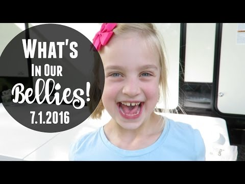 WHAT'S IN OUR BELLIES | 7.1.2016