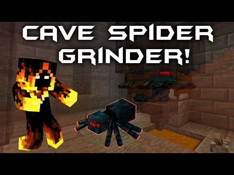 EASY & SIMPLE Cave Spider Grinder 1.12 & Other Versions
