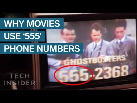 Why Movie And TV Show Phone Numbers All Use