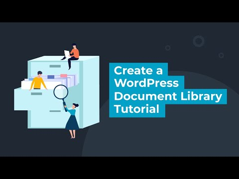 Create a WordPress Document Library