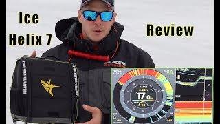 Humminbird Helix 7 Ice Fishing Tips With Steve Worrall