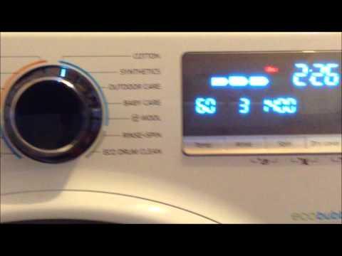 Samsung ecobubble WD90J7300GW washer dryer