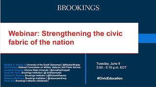 Webinar: Strengthening the civic fabric of the nation