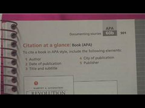 College Research Papers : How to Write an APA Style Paper