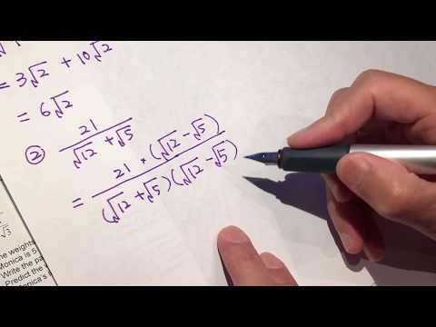 High school math - algebra 2 basic arithmetics 01 asmr