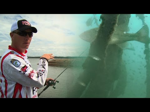 Finding and Fishing Bass in Brush Piles