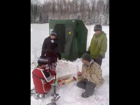 Troop 323 ~ Ice Fishing 2012