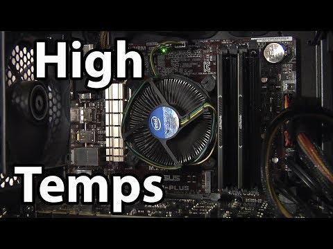 Got High CPU Temps? Replacing Stock Intel Cooler