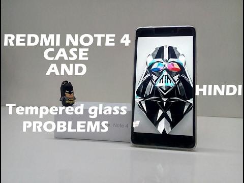 xiaomi redmi note 4 cover and tempered glass problem  **update(Check Description)