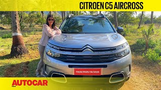 2021 Citroen C5 Aircross review - French revolution? | First Drive | Autocar India