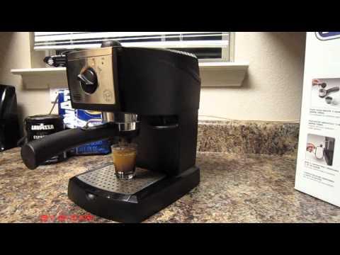 DeLonghi EC155 Espresso Maker How to make espresso coffee at home