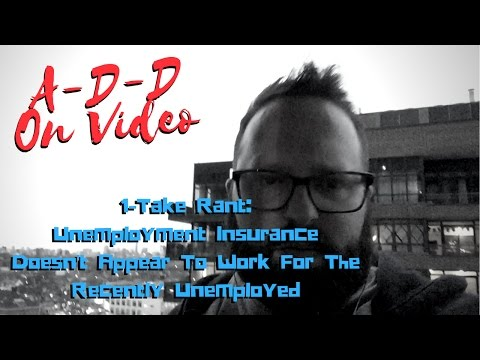Unemployment Insurance Doesn't Work For The Recently Unemployed | 1-Take Rant
