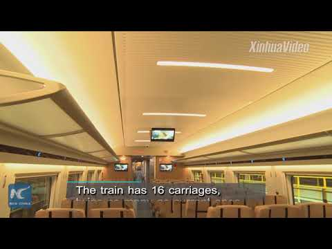 400 meters long! Here come extra long Chinese-made bullet trains!