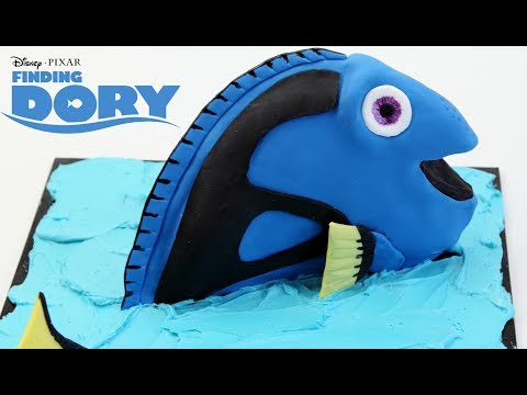 How To Make  Disney FINDING DORY Cake!