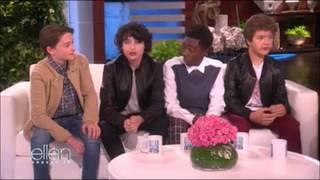 Stranger Things Cast on The Ellen Show