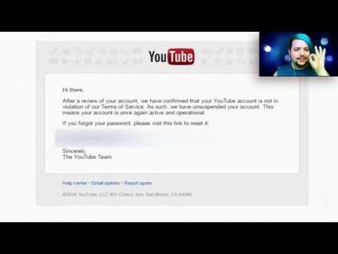 Youtube Channel Suspended: How To Appeal To YouTube