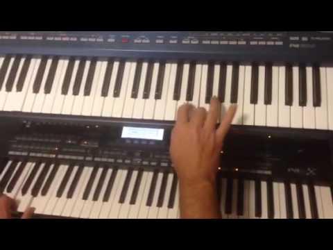 Kurdish music by keyboard piano zaxo kurdistan موزيكا كوردي يازاخو لى كوردستان