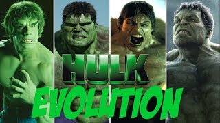 EVOLUTION OF HULK IN MOVIES AND TV (1978 - 2017) | EVOLUTION MANIA STAGE | TBG