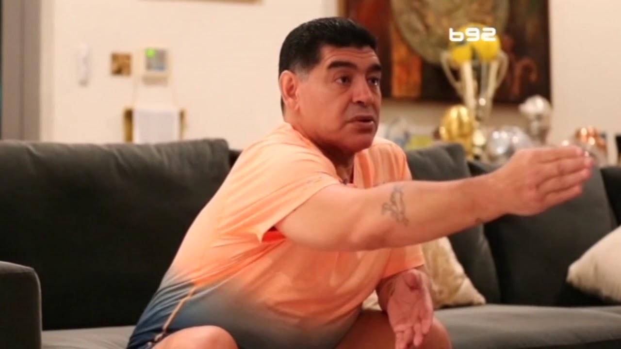 Dijego Maradona ekskluzivno za B92: Novak je fenomen, sve je namešteno   B92