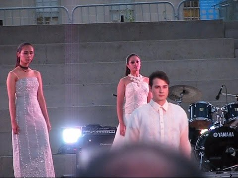 Fashion Show at PIDC's 2016 Mabuhay Philippines Festival