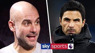 Pep Guardiola says Mikel Arteta can 'definitely' succeed him as Manchester City manager